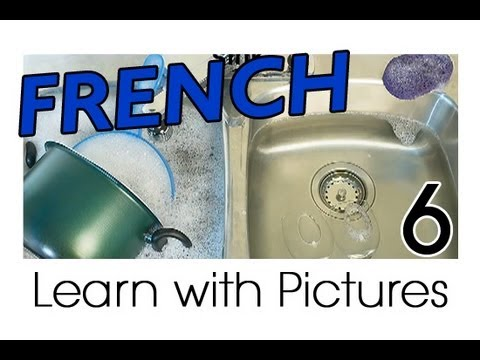 Learn French French Kitchen Vocabulary Youtube