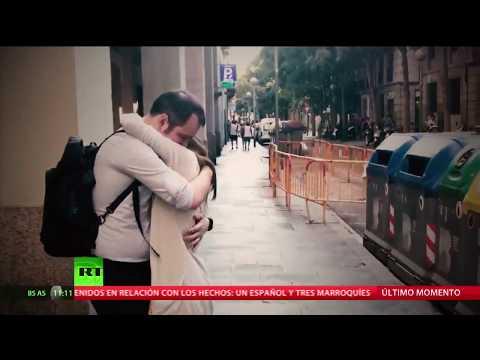 El pánico se apoderó del centro de Barcelona tras el atropello masivo