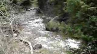 4x4 Quad Crossing the River at Tibble Fork Utah