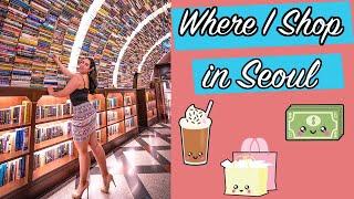 Where I Go Shopping in Korea |Summer in Seoul | Explore Jamsil