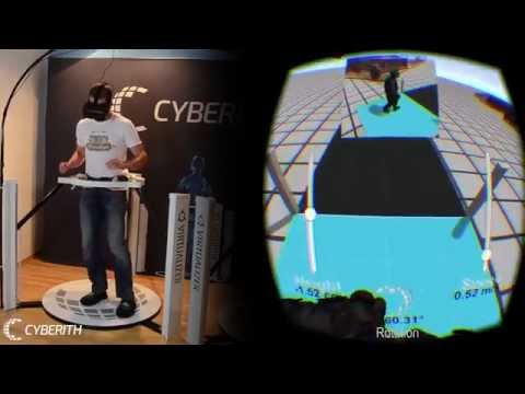 Cyberith VIRTUALIZER + Oculus RIFT + Gun = Ultimate VR Immersion 3 Point Decoupling System