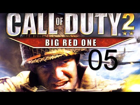Call Of Duty 2: Big Red One Walkthrough Gameplay Part 5