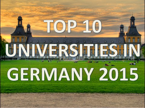 Top 10 Best Universities In Germany 2015/Top 10 Universidades De Alemania 2015