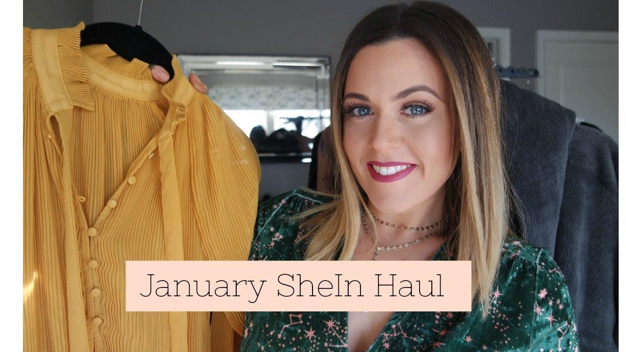 ef7c1a5139fa January Clothing Haul | 2018 | SheIn - YouTube