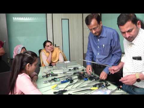 Laparoscopy Basic Hand Instruments