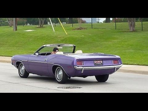 1970 Plymouth Barracuda Convertible Survivor
