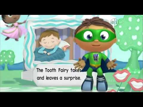 058 Super Why    The Story of the Tooth Fairy