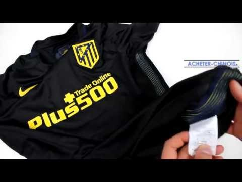 info for 29c42 48cae CONCOURS] Maillot Atletico Madrid noir 2016/2017 sur ...