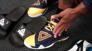 George hill, gerald green show off playoff sneakers