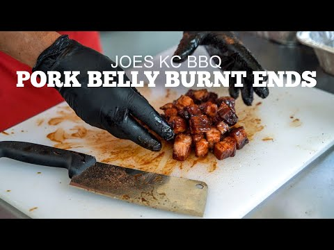 Pork Belly Burnt Ends with Joes Kansas City BBQ | Q in the Lou, St. Louis BBQ Festival