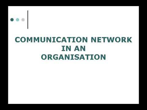 Communication Network In An Organisation