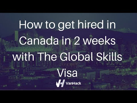 The Canadian Global Skills Visa