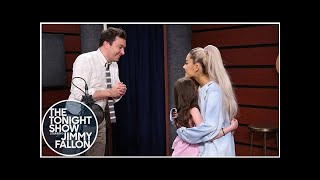 """Ariana Grande Surprises Fans While They Sing """"One Last Time"""""""