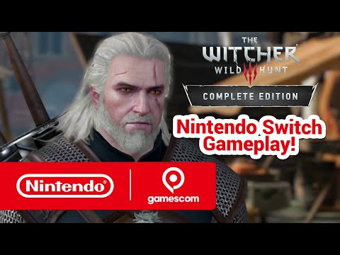Here's The Witcher 3 running in handheld mode on Switch