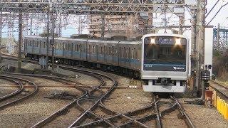 小田急電鉄4000形・1000形・3000形 藤沢駅にて