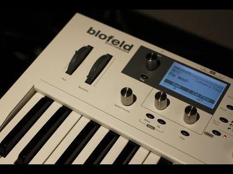 Waldorf Blofeld demo / microtracks