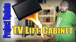 TV Lift Cabinet Project Progress