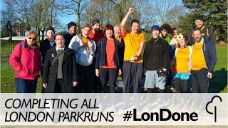 Completing All London Parkruns