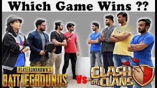 Clash Of Clans Vs Pubg - Fans Forever(Part 2) | Dekhte Rahoo