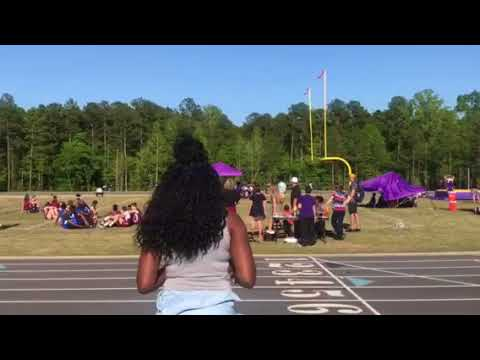 Rolesville Middle school 4x1 relay against 3 schools