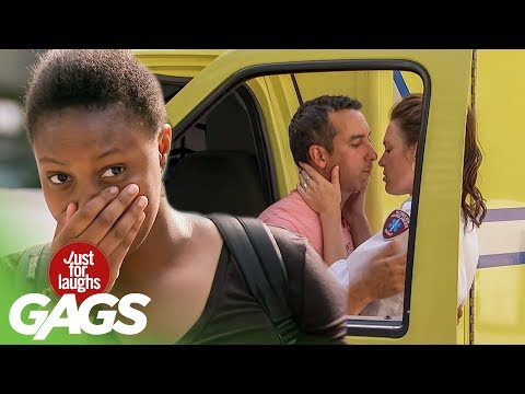 Husband Cheats on Pregnant Wife - Just For Laughs Gags