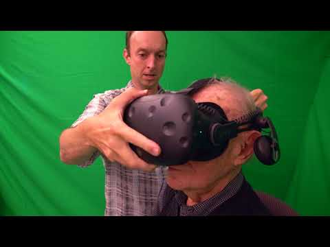 Intel Brings 1st Virtual Reality Experience to Centenarian