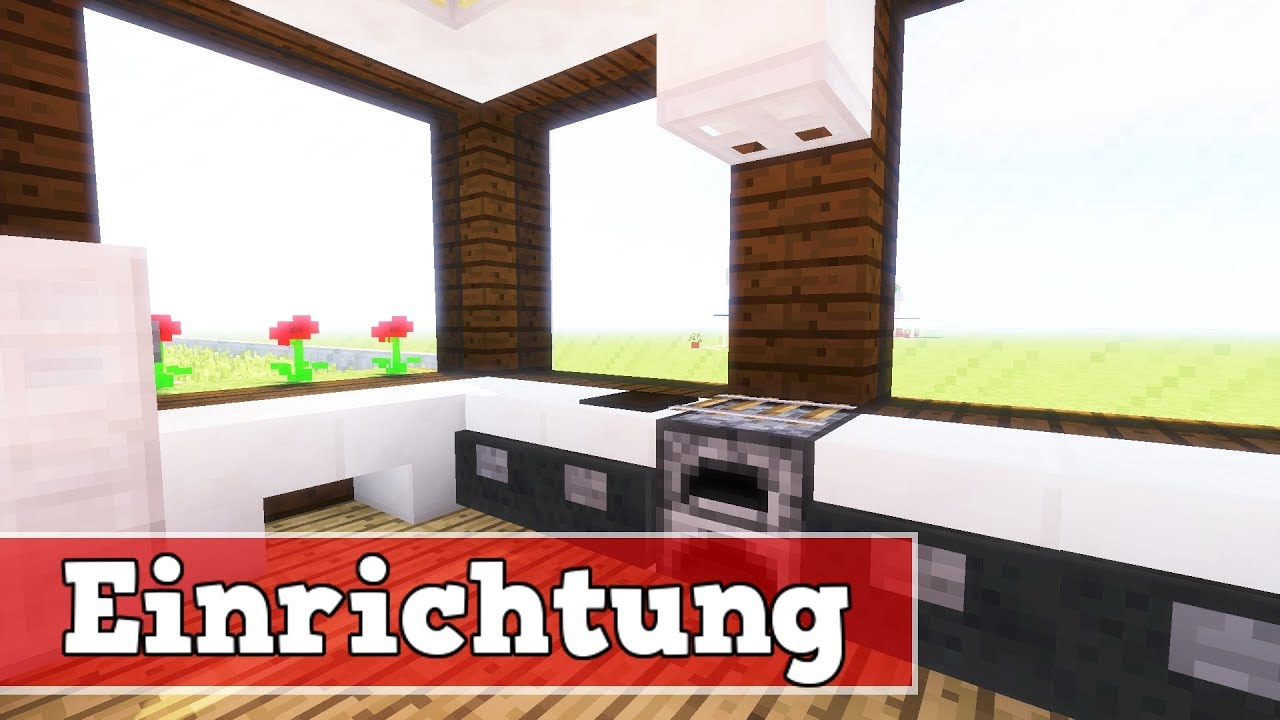 wie richtet man ein modernes haus ein minecraft modernes haus einrichtung youtube. Black Bedroom Furniture Sets. Home Design Ideas