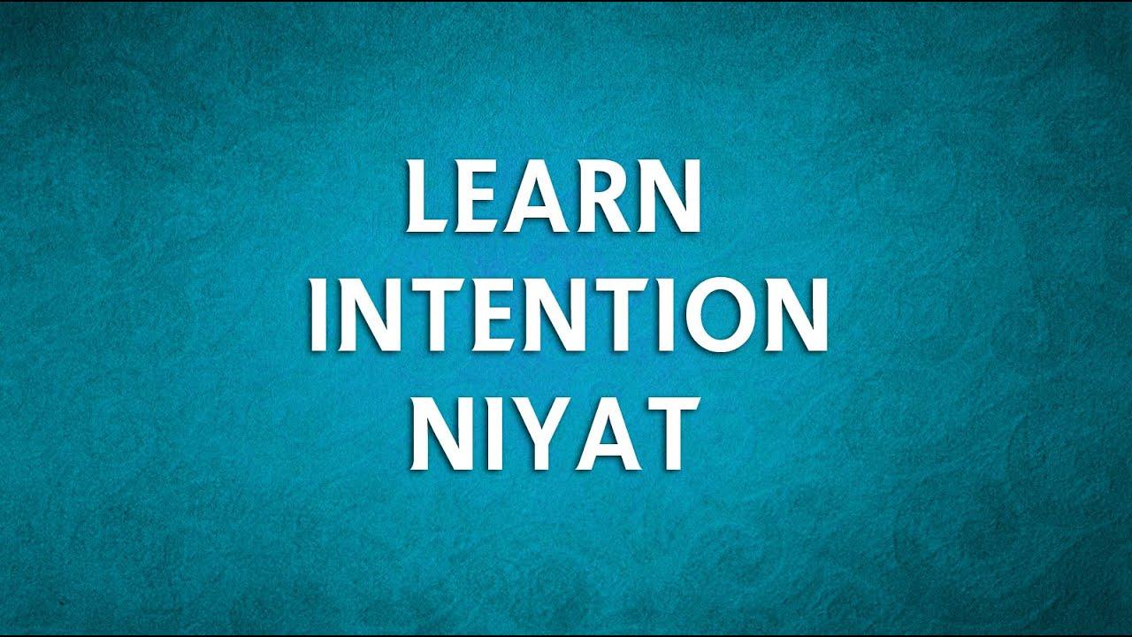 NEW | LEARN Intention/Niyat NAMAZ ki NIYAT | Perform Salah ( Namaz )  Correctly with English & Urdu