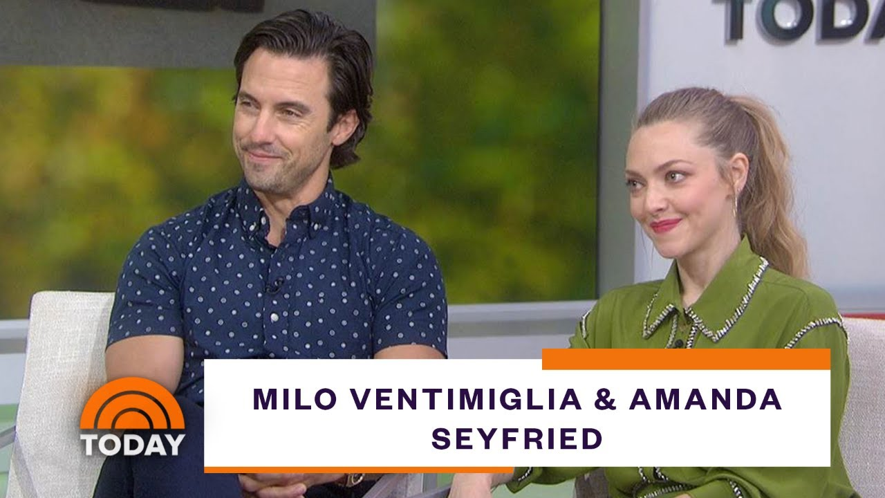 Milo Ventimiglia, Amanda Seyfried dish on acting with pups in new movie