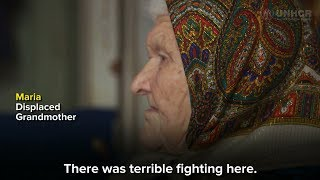 Meet 91-year-old Maria in Ukraine