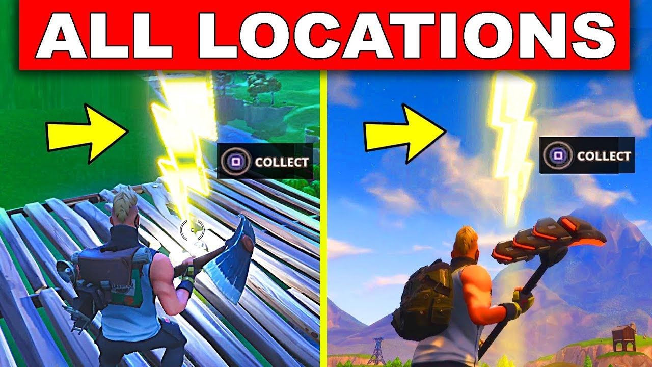 Search Floating Lightning Bolts All 7 Locations Week 1 Season 5