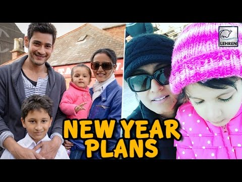 Mahesh Babu Enjoying Vacations With Wife And Kids In Zurich