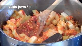 Sambal Goreng Labu Siam (Chayote Curry)