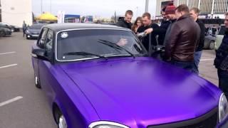 Ural Patriot ломает лобовое стекло