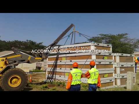 Source Supply Logistics - Tanzania Mining Camp