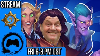 ONE NIGHT IN KARAZHAN and ACTOR POWER LEVELS!? - Casual Friday - TFS Gaming