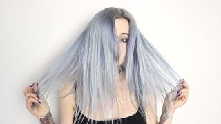 Dyeing My Hair Livid Grey!