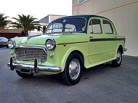 Fiat 1100 H 103 Lusso, model year 1959