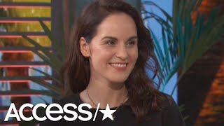 'Downton Abbey' Star Michelle Dockery Says Kate Middleton's Set Visit Was Pure 'Magic'