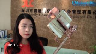 LED Light Selfie Stick with 270 Degree Rotation Review