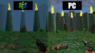 TUROK HD REMASTER 2015 | PC VS NINTENDO 64 | Comparativa grafica