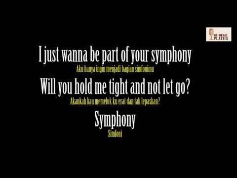 Symphony   Clean Bandit, Zara Larsson cover Video Lyrics ( Terjemahan Indonesia )
