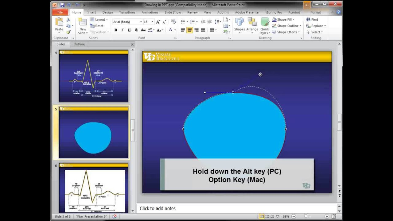 Basic Drawing In Powerpoint How To Draw