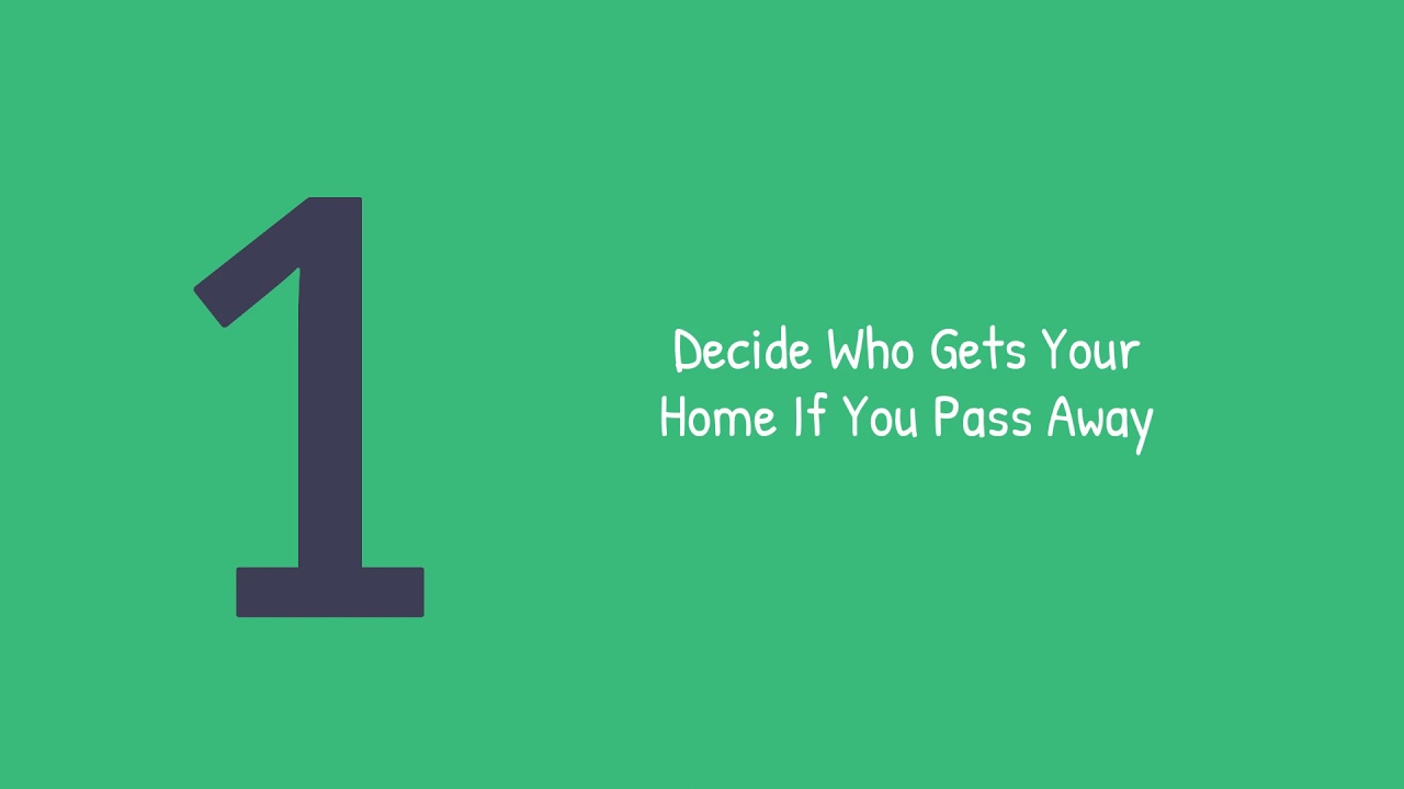 4 Reasons You Need A Will As A Homeowner  | Justo