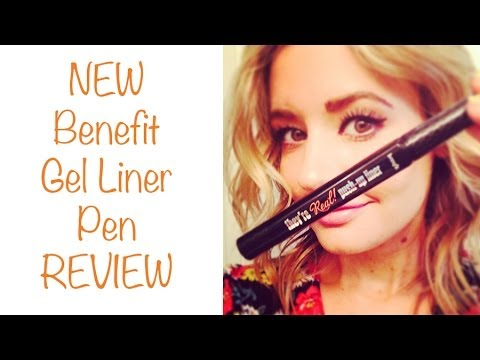 NEW Benefit They're Real Gel Liner Pen - EYELINER REVIEW!