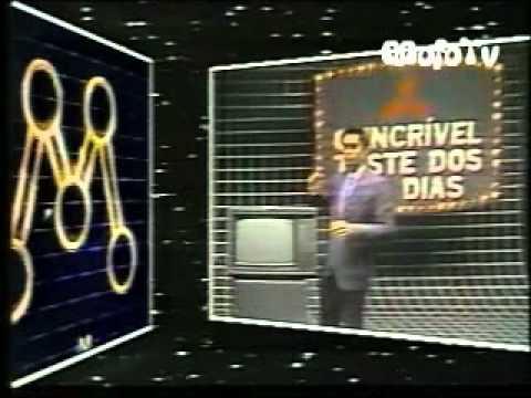 Vinheta: Rede Manchete - Patrocínio do TV Mitsubishi (1984)
