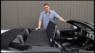 Convertible wind deflector benefits explained and questions answered.