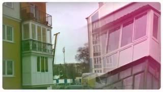 Остекление и ремонт балконов под ключ(Отделка и обустройство балкона под ключ в калининграде производится компанией