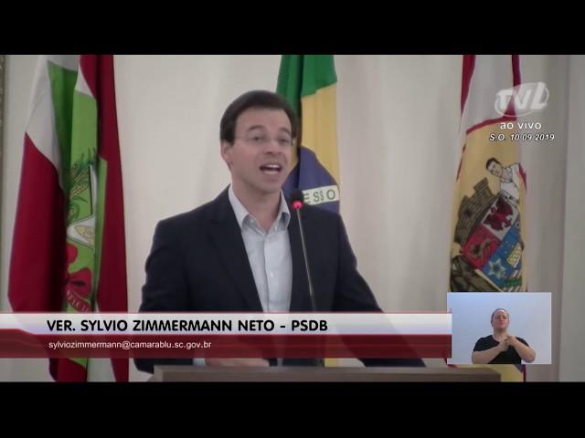 10/09/2019 - Pronunciamento Sessão Ordinária