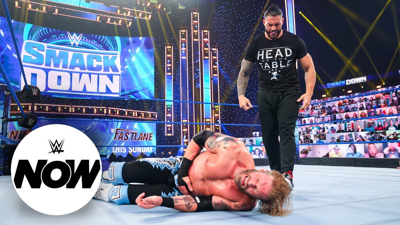 Download Roman Reigns, Edge and Daniel Bryan put legacies on the line at WrestleMania: WWE Now, April 9, 2021